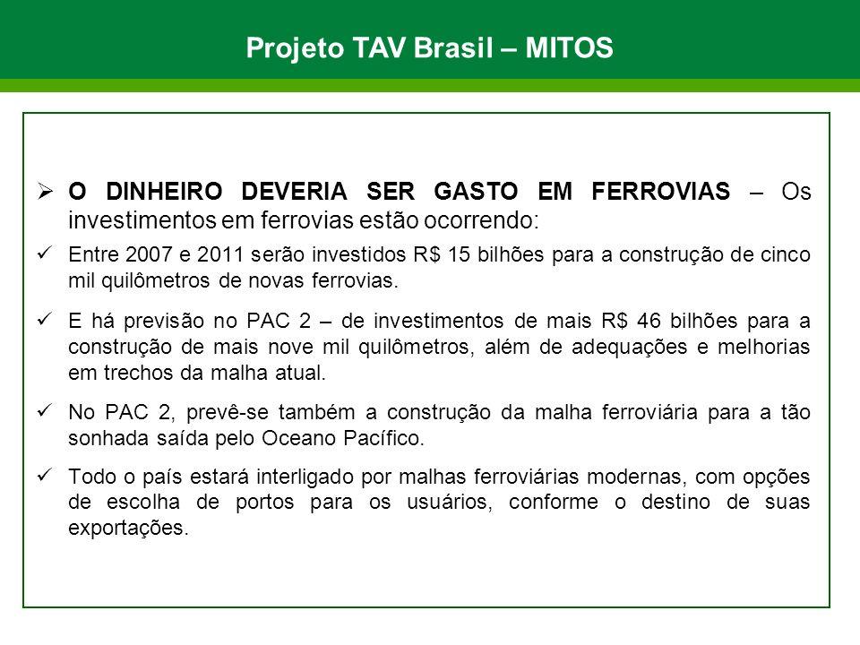 Projeto TAV Brasil – MITOS