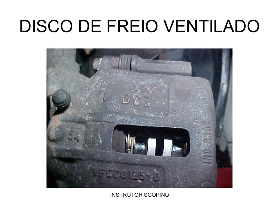 DISCO DE FREIO VENTILADO