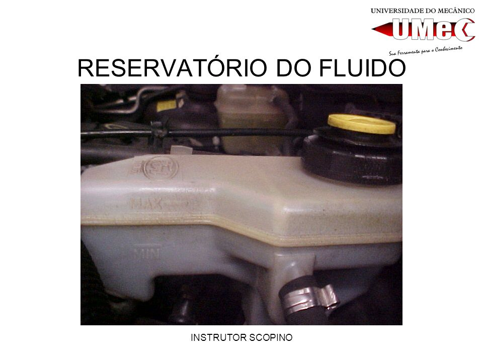 RESERVATÓRIO DO FLUIDO