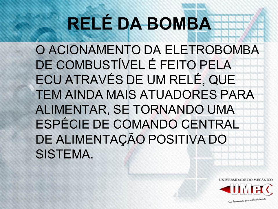 RELÉ DA BOMBA