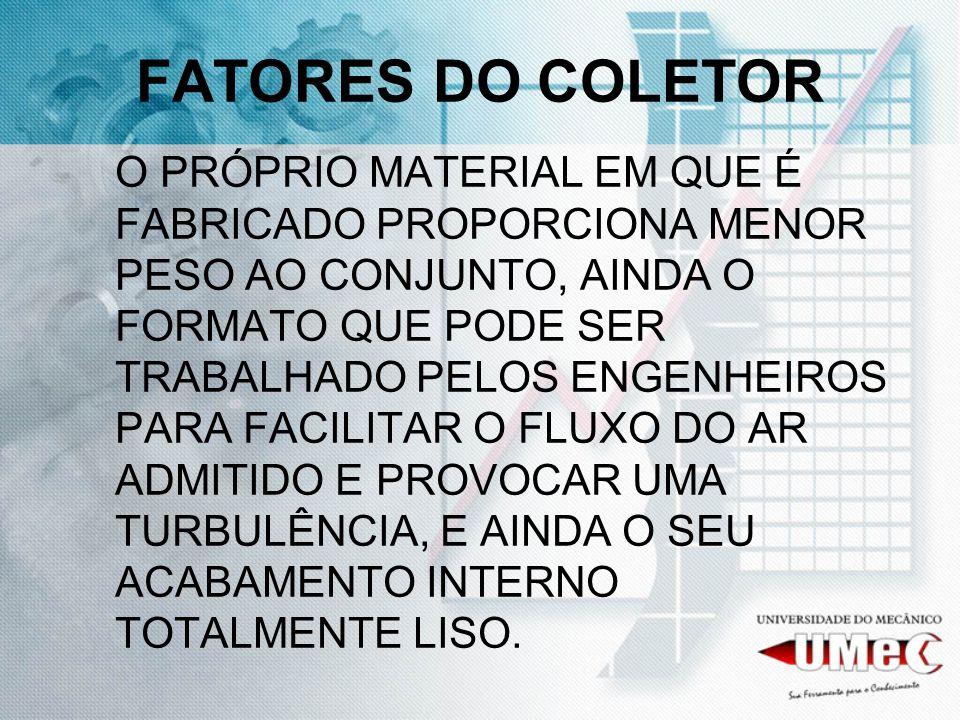 FATORES DO COLETOR