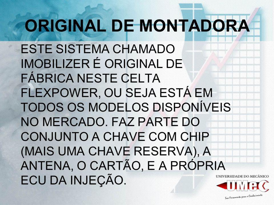 ORIGINAL DE MONTADORA