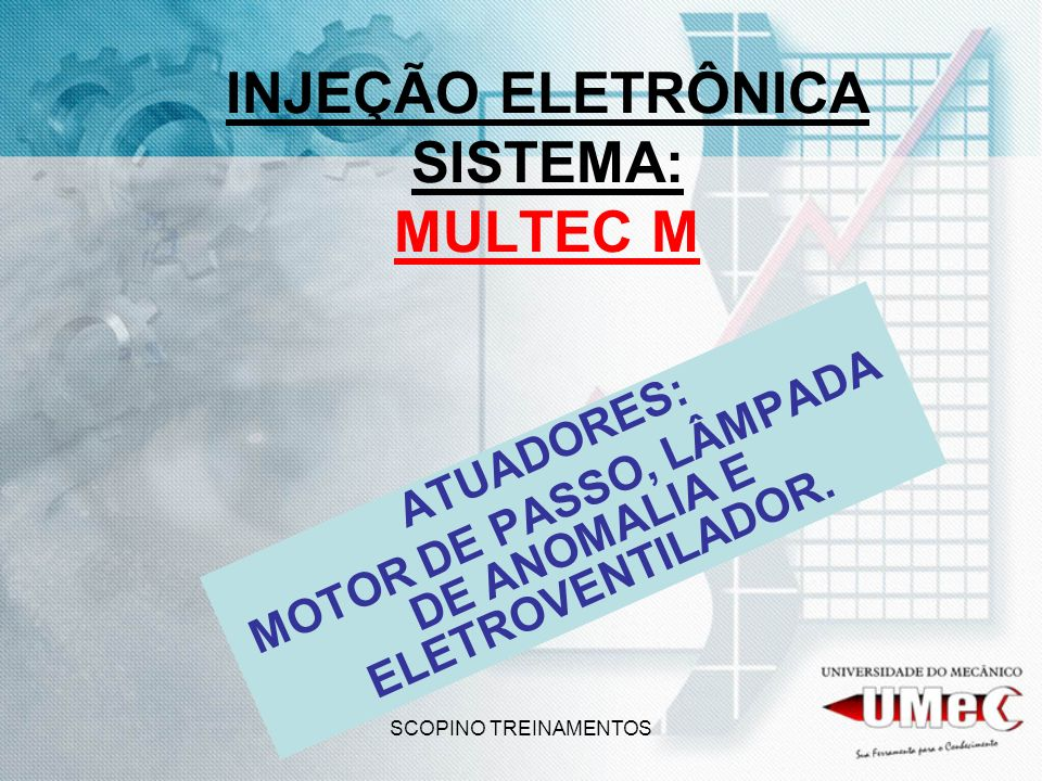INJEÇÃO ELETRÔNICA SISTEMA: MULTEC M