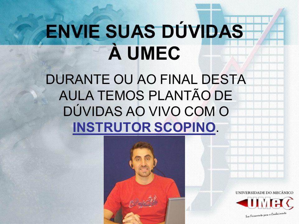 ENVIE SUAS DÚVIDAS À UMEC