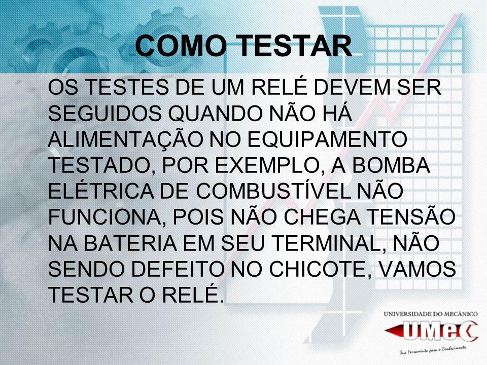 COMO TESTAR