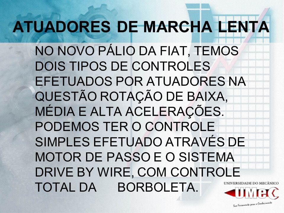 ATUADORES DE MARCHA LENTA