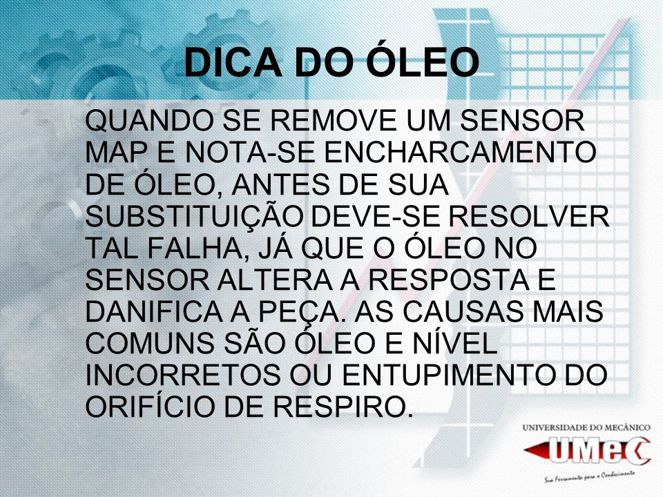 DICA DO ÓLEO