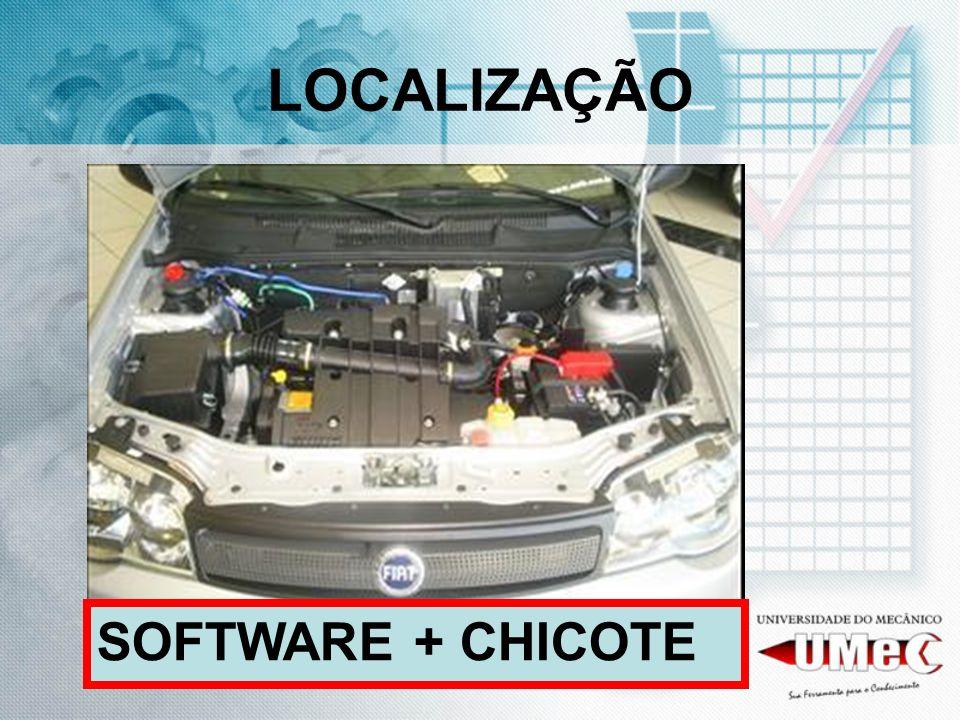 LOCALIZAÇÃO SOFTWARE + CHICOTE