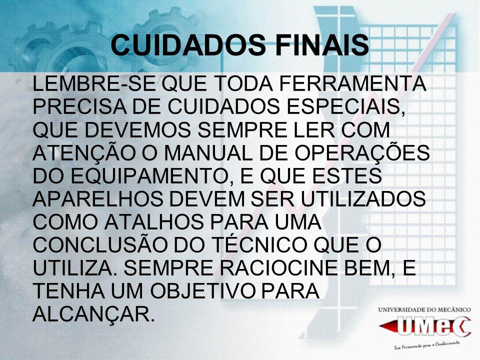 CUIDADOS FINAIS