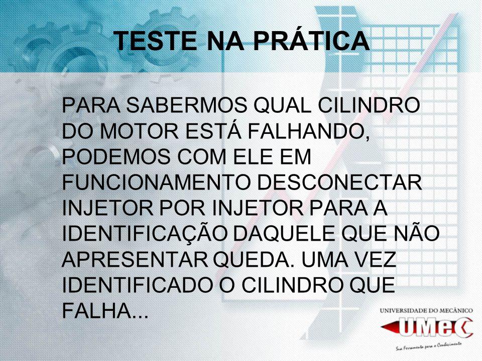 TESTE NA PRÁTICA