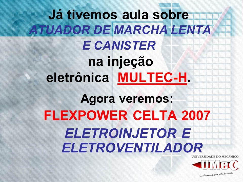 ELETROINJETOR E ELETROVENTILADOR