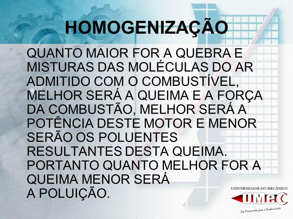 HOMOGENIZAÇÃO