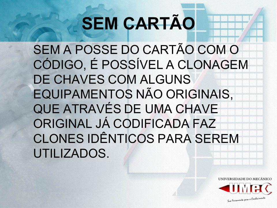 SEM CARTÃO