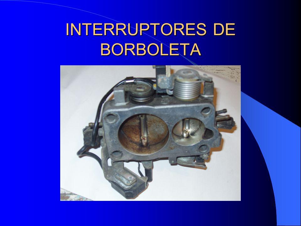 INTERRUPTORES DE BORBOLETA