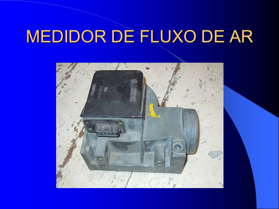 MEDIDOR DE FLUXO DE AR