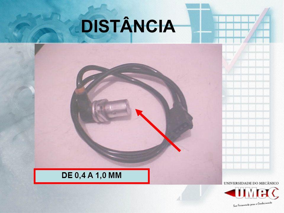 DISTÂNCIA DE 0,4 A 1,0 MM