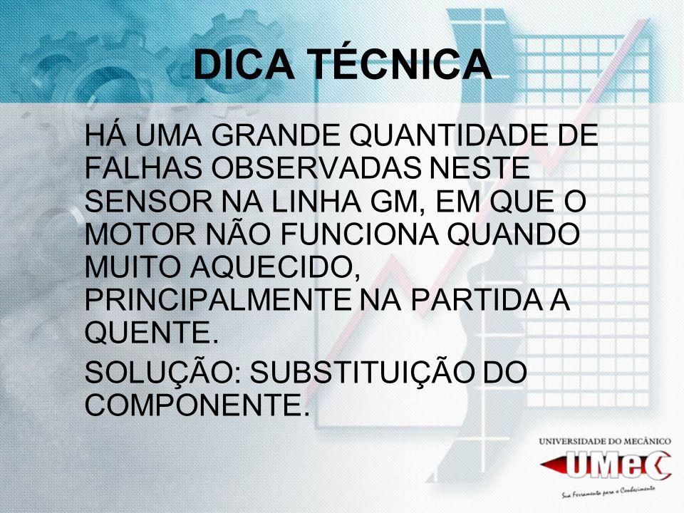 DICA TÉCNICA
