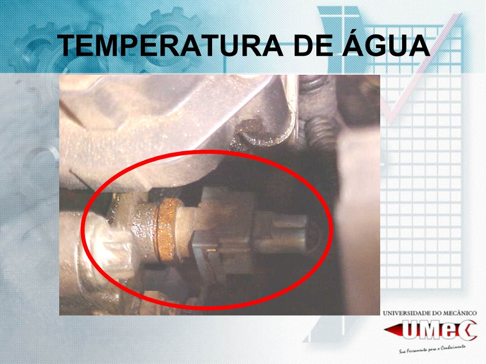 TEMPERATURA DE ÁGUA