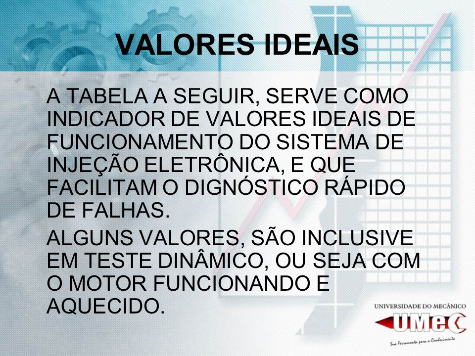 VALORES IDEAIS