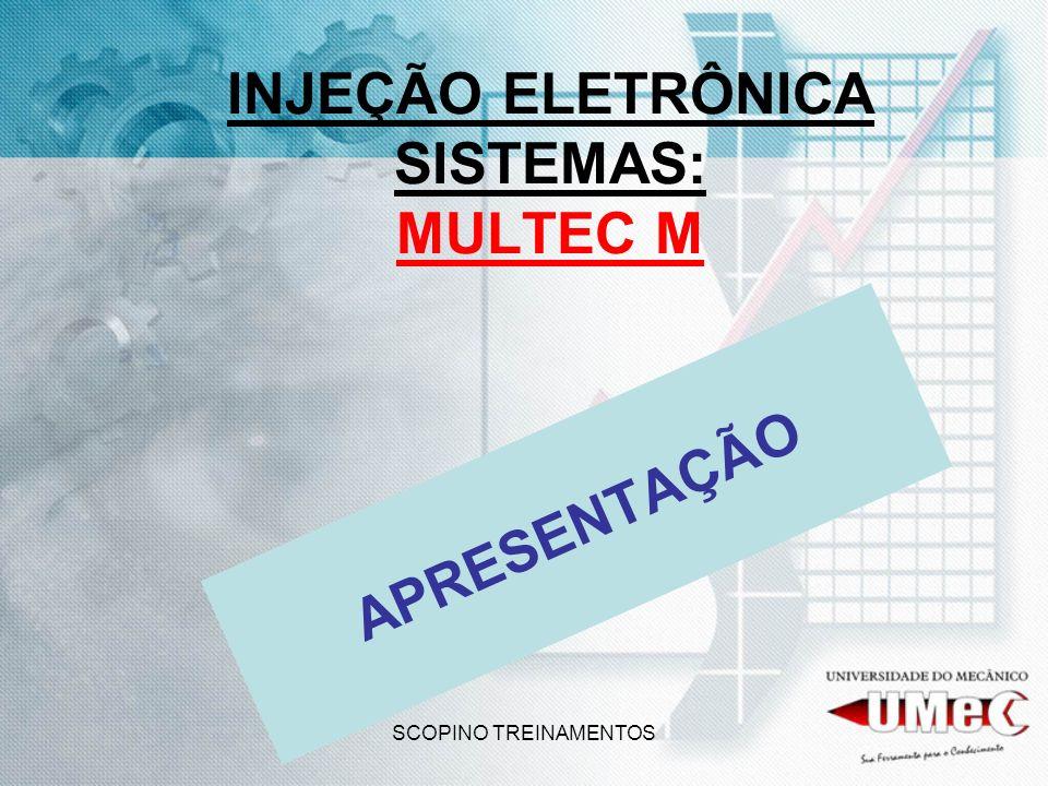 INJEÇÃO ELETRÔNICA SISTEMAS: MULTEC M