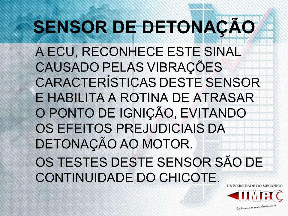 SENSOR DE DETONAÇÃO