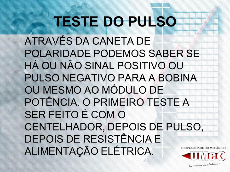 TESTE DO PULSO