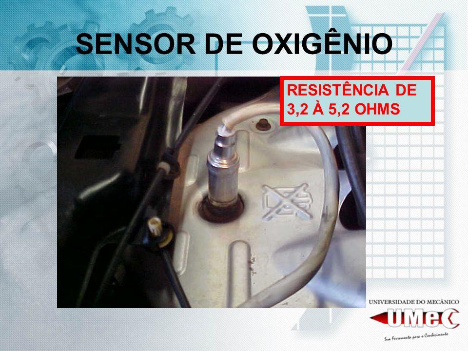 SENSOR DE OXIGÊNIO RESISTÊNCIA DE 3,2 À 5,2 OHMS
