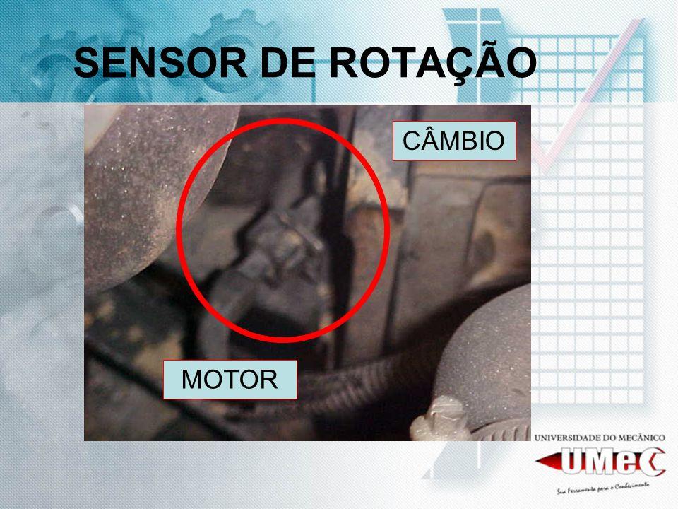SENSOR DE ROTAÇÃO CÂMBIO MOTOR