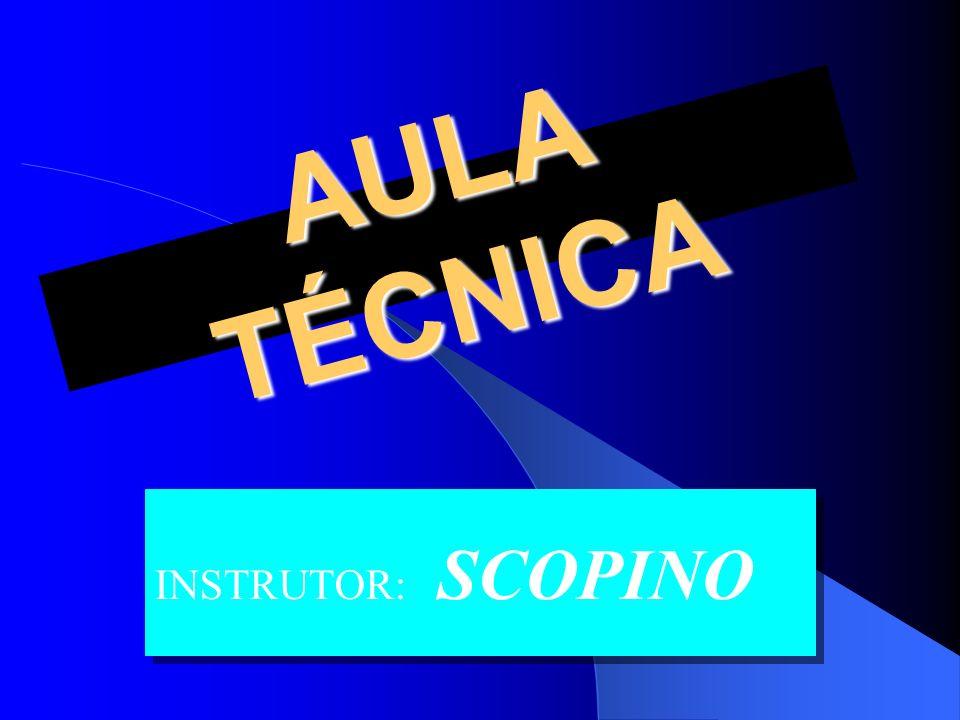 AULA TÉCNICA INSTRUTOR: SCOPINO