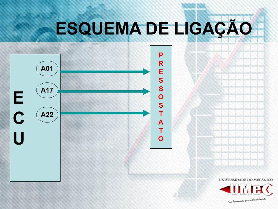 ESQUEMA DE LIGAÇÃO P R E S O T A E C U A01 A17 A22