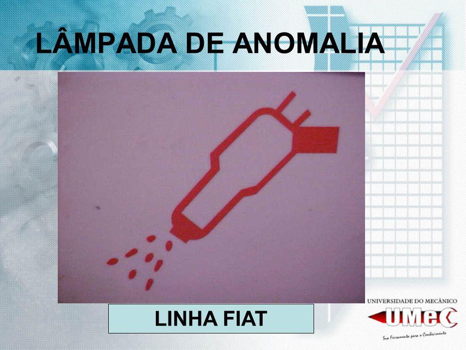 LÂMPADA DE ANOMALIA LINHA FIAT