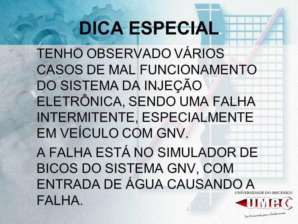 DICA ESPECIAL