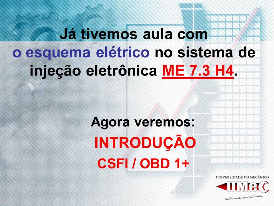 Já tivemos aula com o esquema elétrico no sistema de injeção eletrônica ME 7.3 H4.