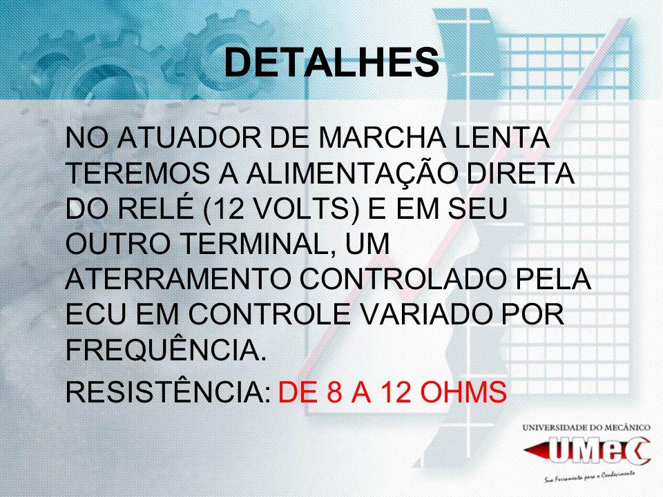DETALHES RESISTÊNCIA: DE 8 A 12 OHMS
