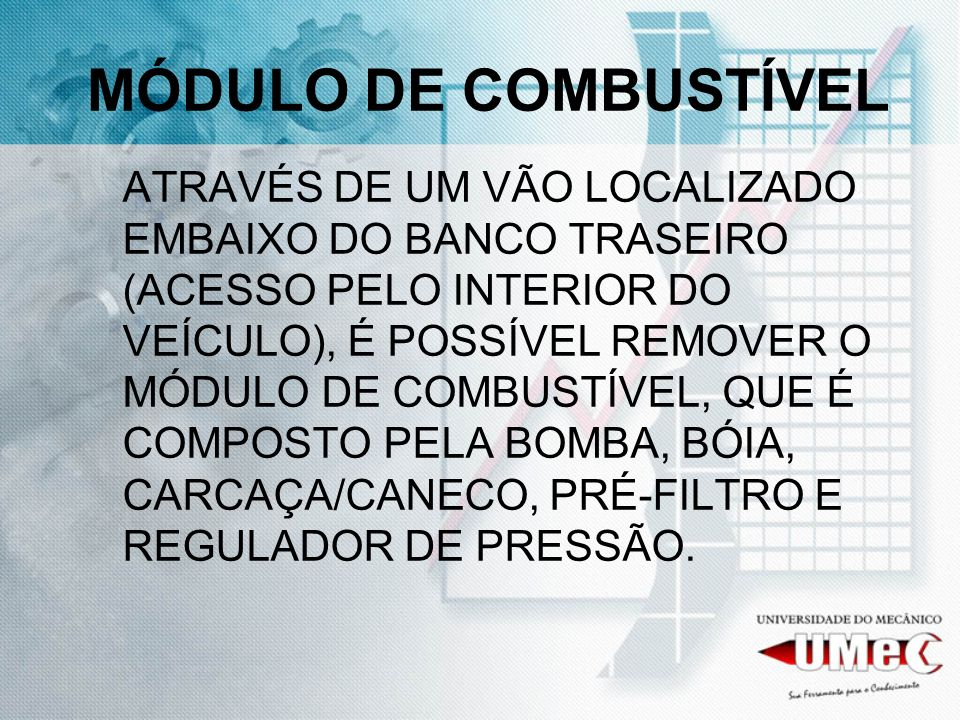 MÓDULO DE COMBUSTÍVEL