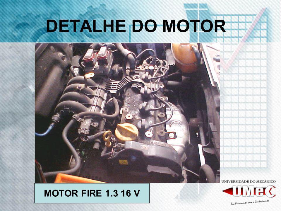 DETALHE DO MOTOR MOTOR FIRE 1.3 16 V