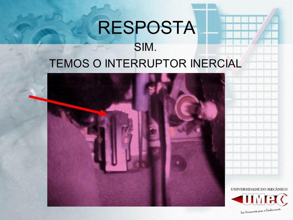 TEMOS O INTERRUPTOR INERCIAL