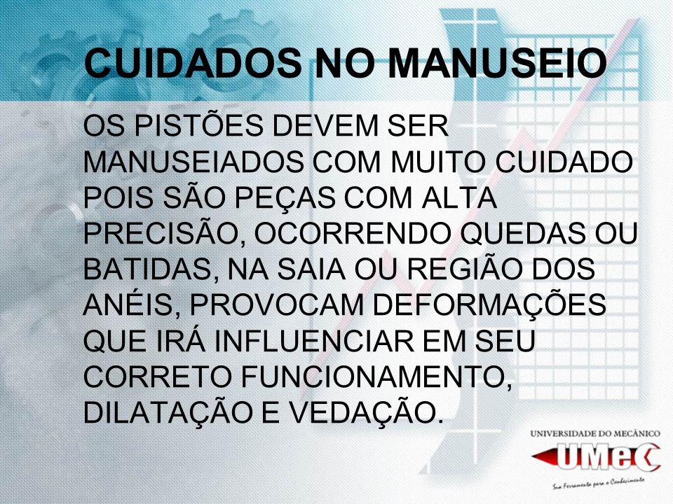 CUIDADOS NO MANUSEIO