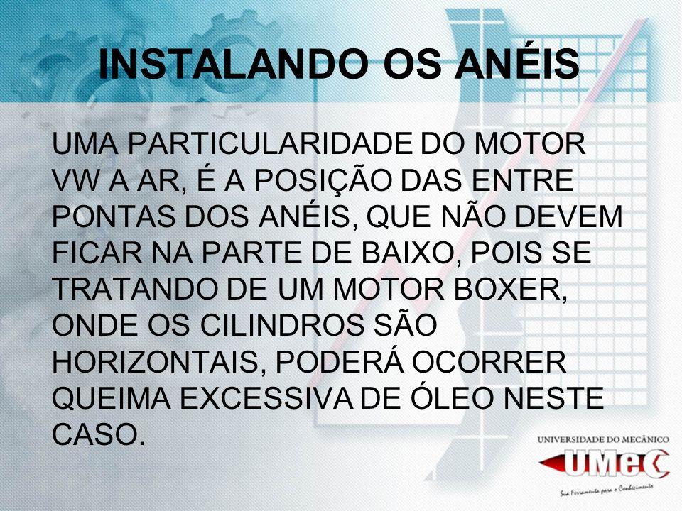 INSTALANDO OS ANÉIS
