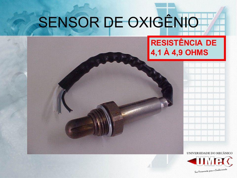 SENSOR DE OXIGÊNIO RESISTÊNCIA DE 4,1 À 4,9 OHMS