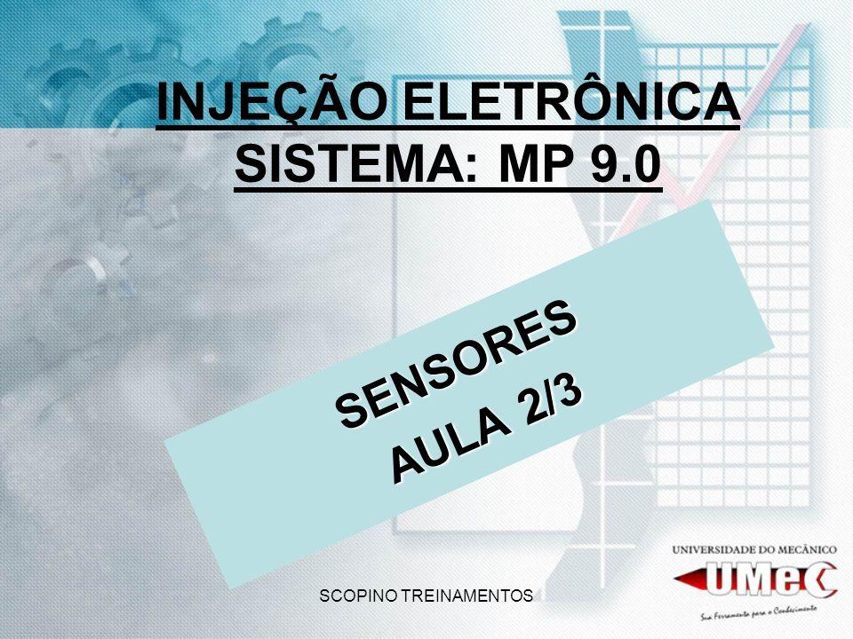 INJEÇÃO ELETRÔNICA SISTEMA: MP 9.0