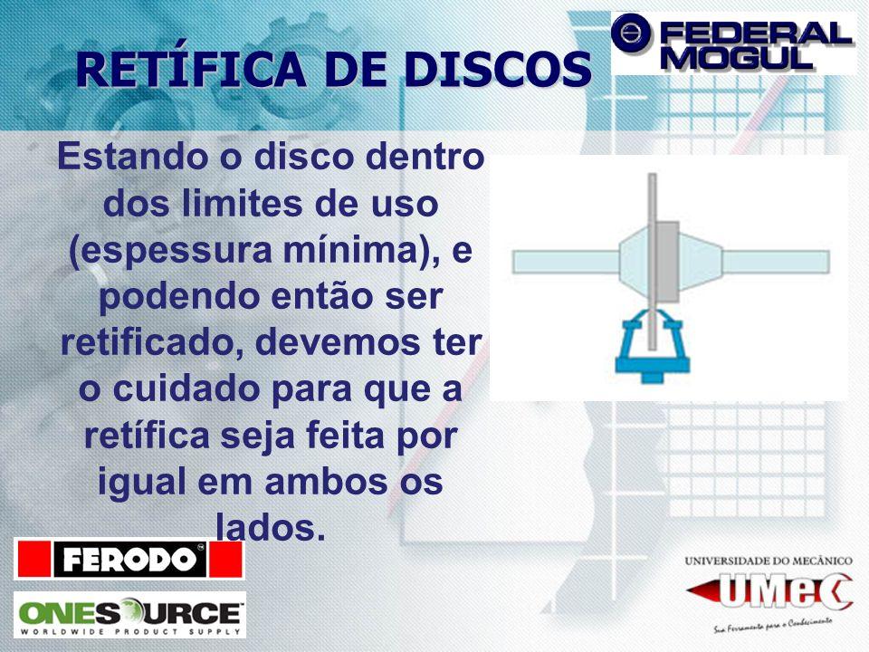 RETÍFICA DE DISCOS