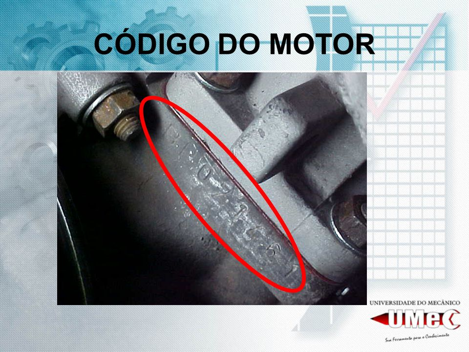 CÓDIGO DO MOTOR