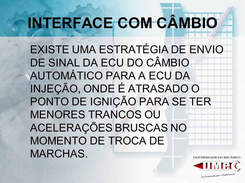 INTERFACE COM CÂMBIO