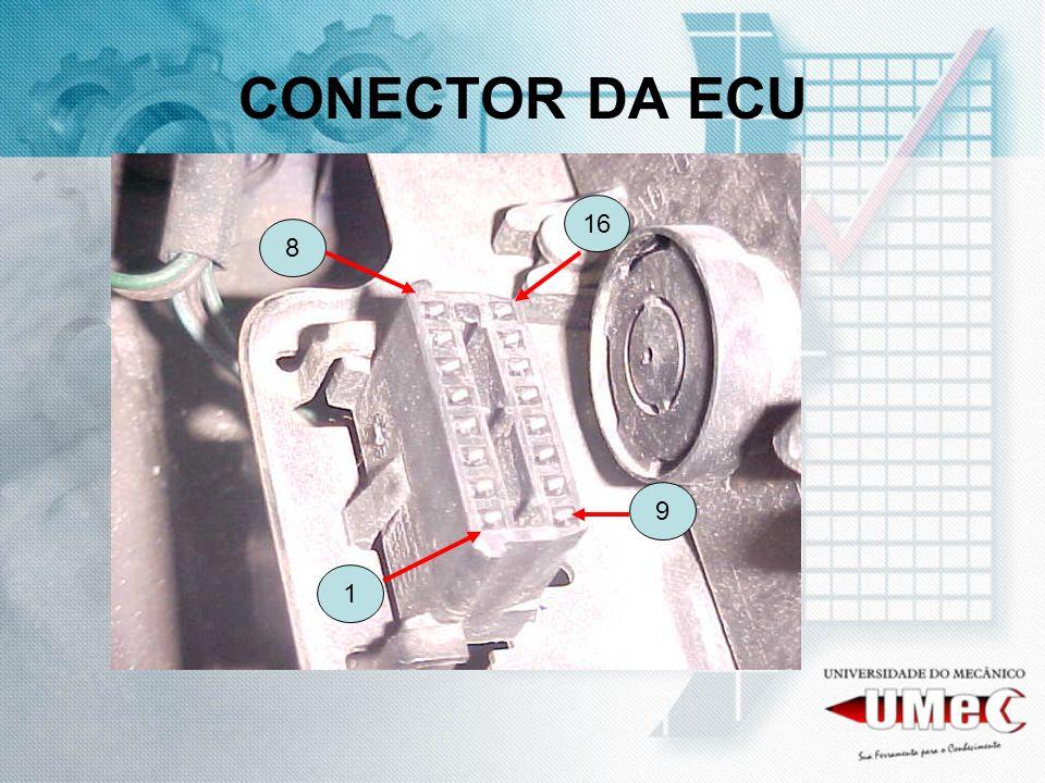 CONECTOR DA ECU 16 8 9 1