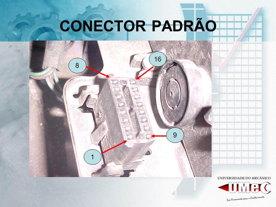 CONECTOR PADRÃO 16 8 9 1