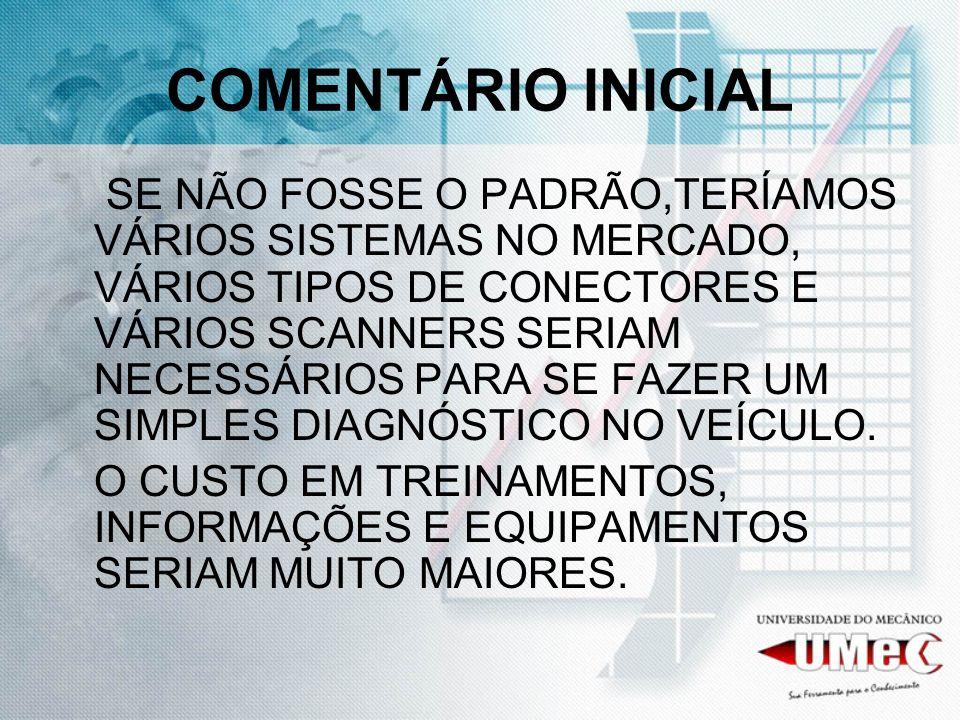 COMENTÁRIO INICIAL