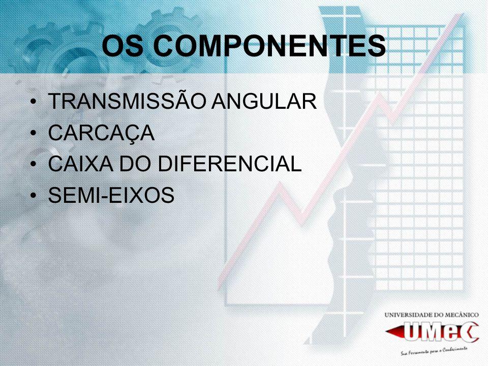 OS COMPONENTES TRANSMISSÃO ANGULAR CARCAÇA CAIXA DO DIFERENCIAL
