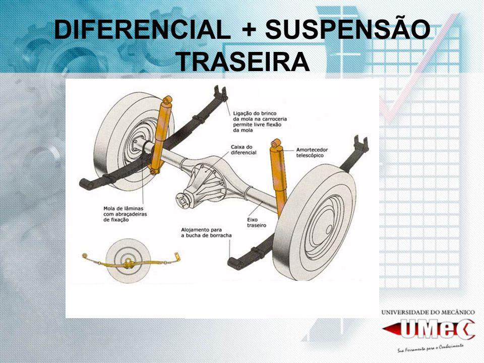 DIFERENCIAL + SUSPENSÃO TRASEIRA