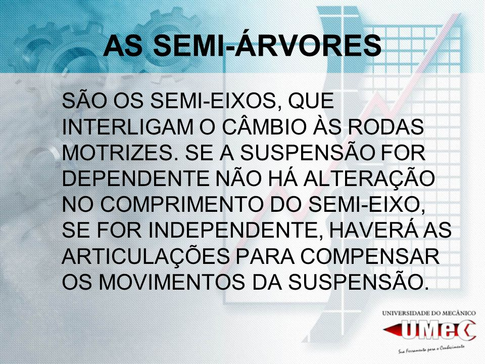 AS SEMI-ÁRVORES
